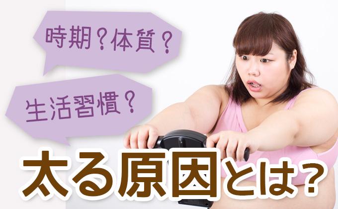 太る原因とは?
