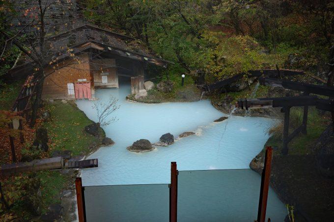 長野県 白骨温泉