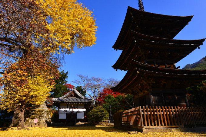 長野県 国宝 八角堂